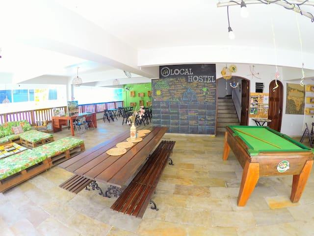 Melhor Localização de Manaus-Dormitório de 6 camas