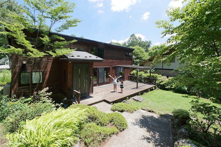 Cozy Retreat in the Fuji Forest