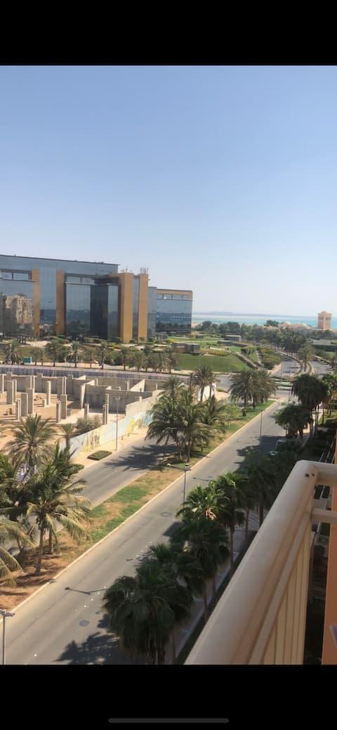 شقق داخل مدينة الملك عبدالله الاقتصادية
