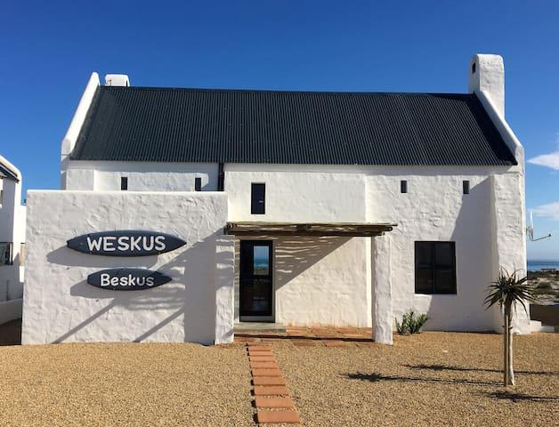 Weskus-Beskus  Beach House, Dwarskersbos.