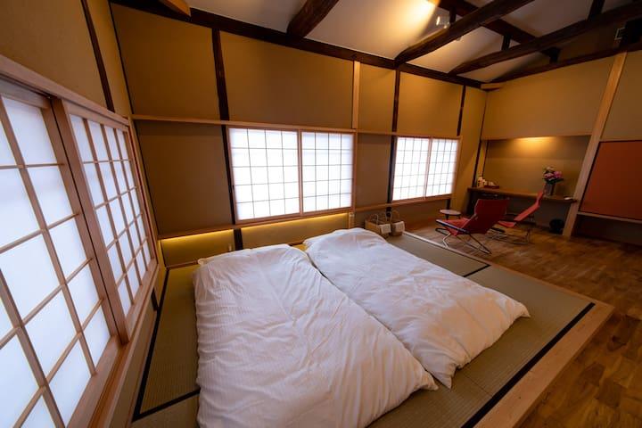 Friendly family host at Kurashiki 倉敷市美観地区にある家族経営の宿
