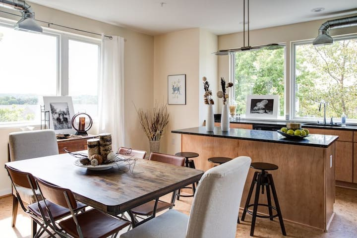 East Town Abode | DT w/ Mtn. Views - Charlottesville - Appartement