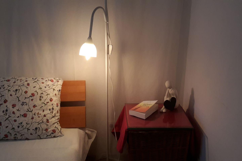 Schlafzimmer für 1 - 2 Personen