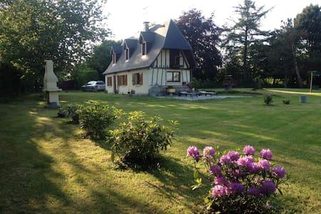 Maison normande (2e chambre) - Sainte-Croix-sur-Aizier - House