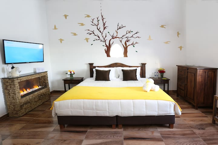 VDL Colonial hotel / Room & jacuzzi