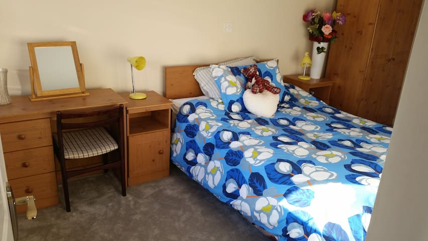 Private bedroom, en suite , quiet neighborhood - Ennis - Casa
