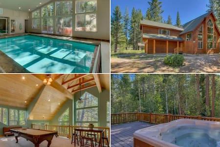 Riverside 6 Bed 6 Bth Indoor Pool & HotTub & Sauna
