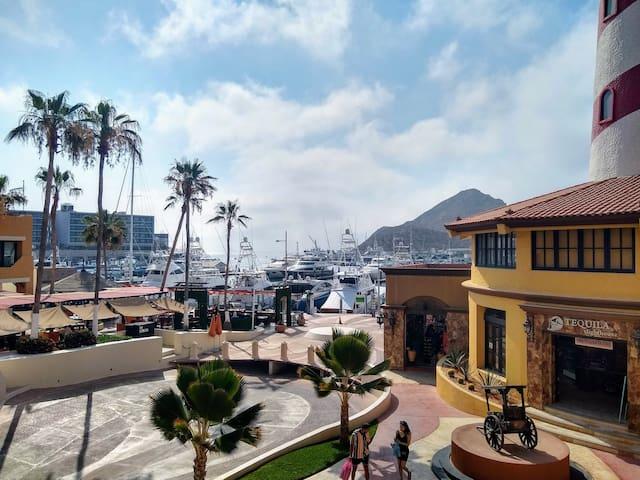 Waterfront Bright Corner Condo with Marina Views