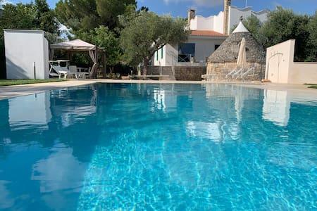 Residenza Lippolis - Top Villa with Pool in Puglia
