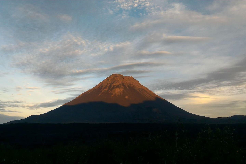 Au pied du Grand Pico de Fogo