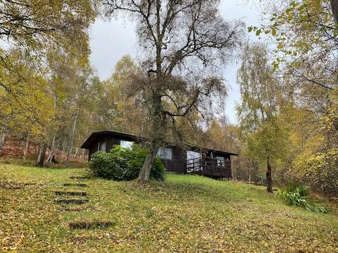 Skogshytte nr. 7, nær Lochness