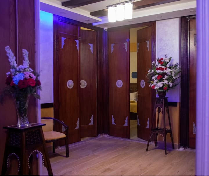 Stay at The heart of Cairo That is location Hotel