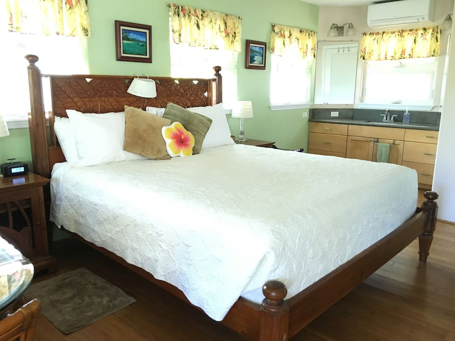 Well Equipped Suite with King Bed