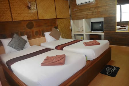 Easy and Relaxing Bungalow on Beach - 2nd row - Ao Nang