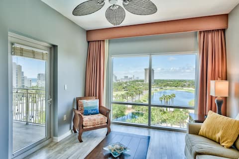 Sandestin LUAU 6th flr. 1 bedroom - Steps to beach
