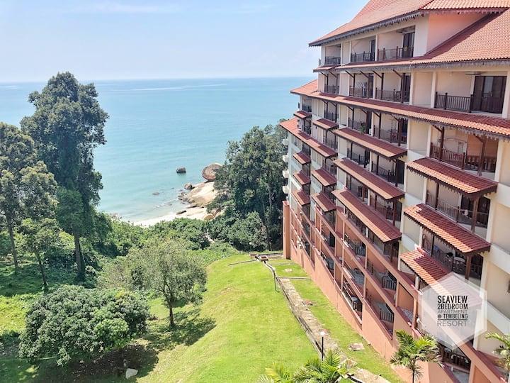 Seaview 2Bedroom Apartment @ Tembeling Resort