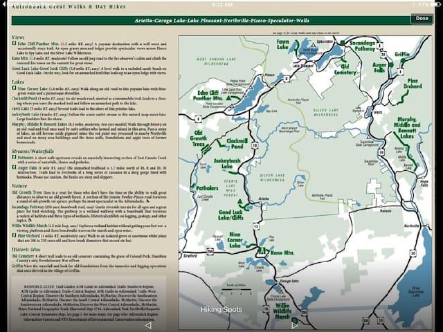 Log Cabin Adirondack Lodge on State Trail System - Caroga Lake - Szállás a természetben