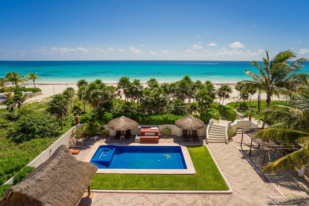 Villa sol y luna contact owner villas for rent in for Villas quintana roo