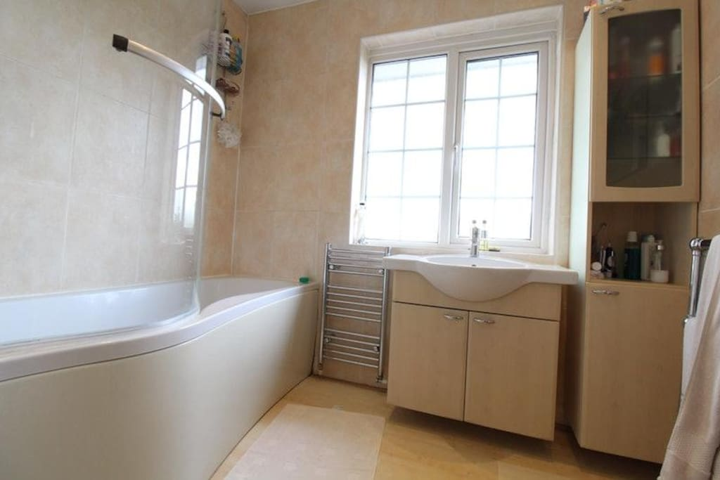 Bathroom with Shower & Separate WC