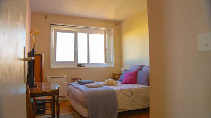 Peaceful Bedroom with comfort