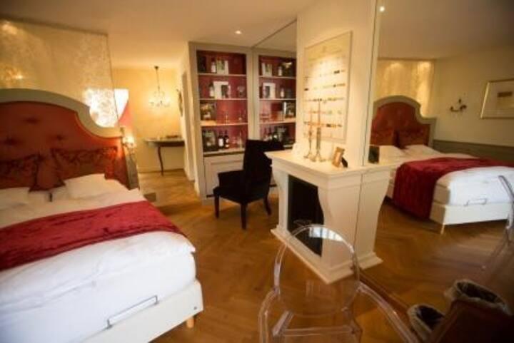 Hotel Heiligenstein, (Baden-Baden), Château M, 28qm, max. 2 Personen