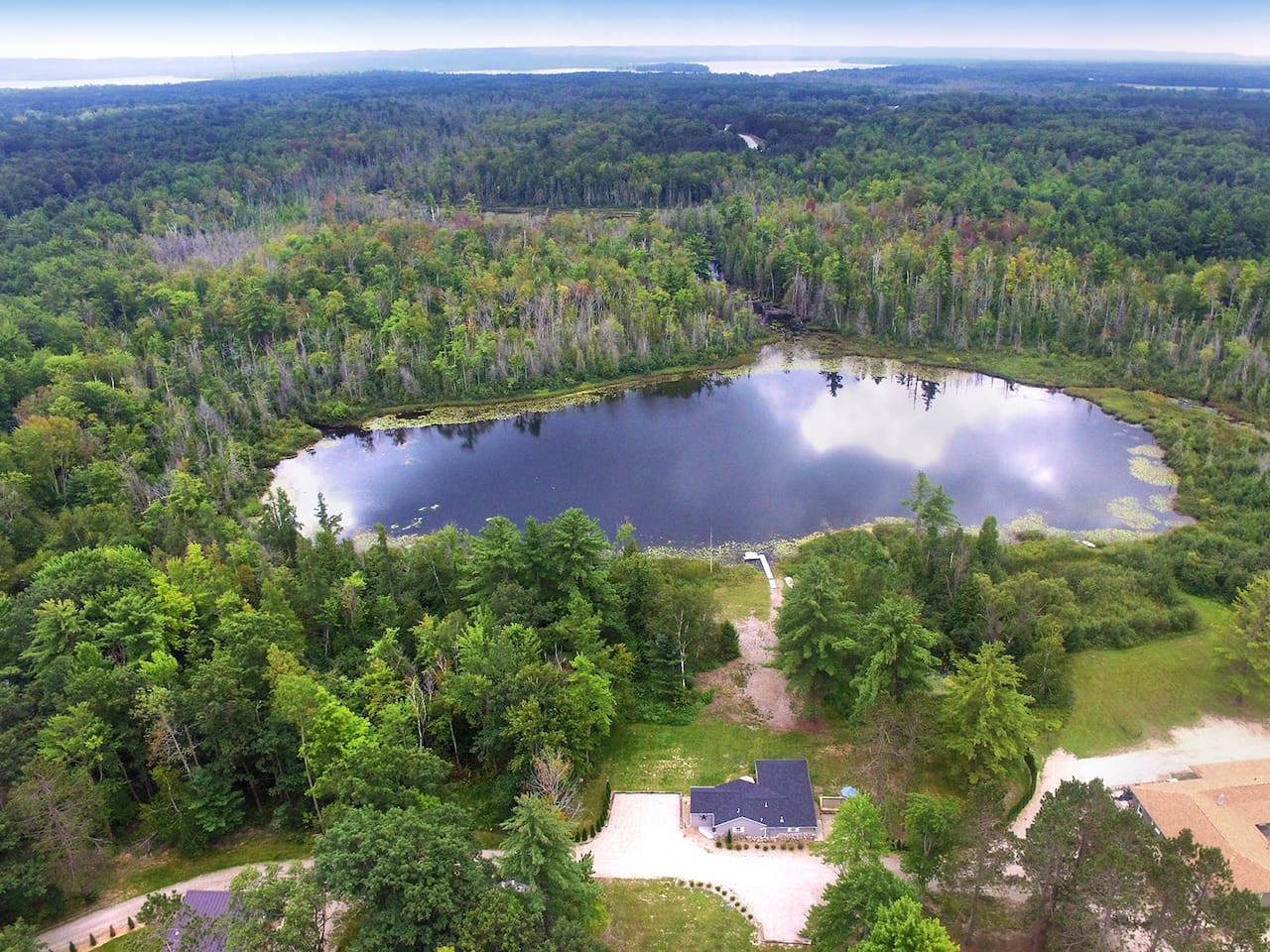 Lost Lake WOW what a picture! AND YES ITS A PRIVATE LAKE!