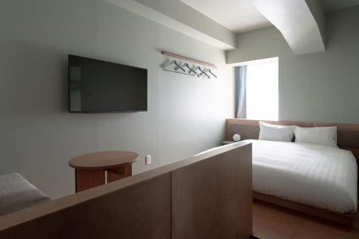 Compact Double/Up to 2 guests/No Meal