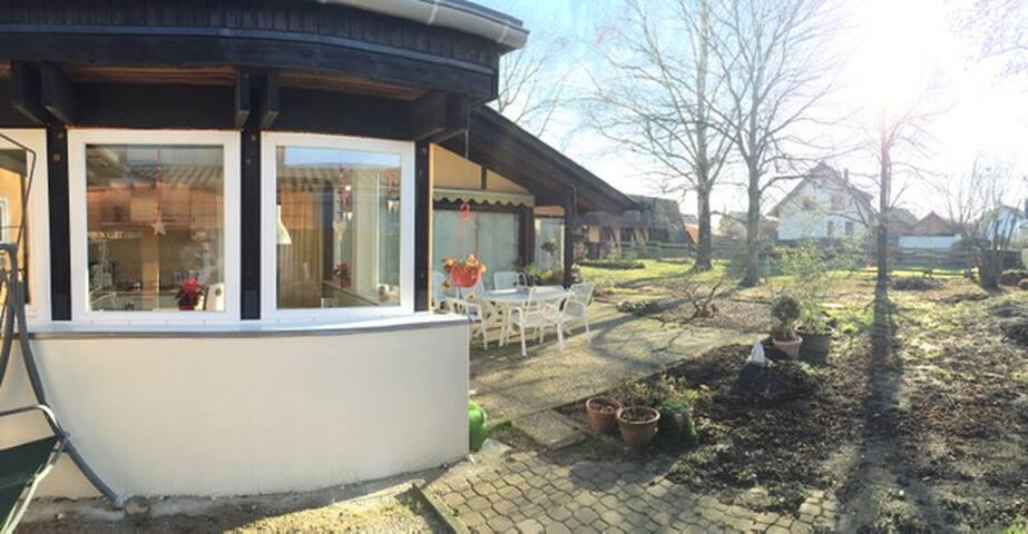 Ruhige Wohnung nahe Straßburg - Willstätt - Casa