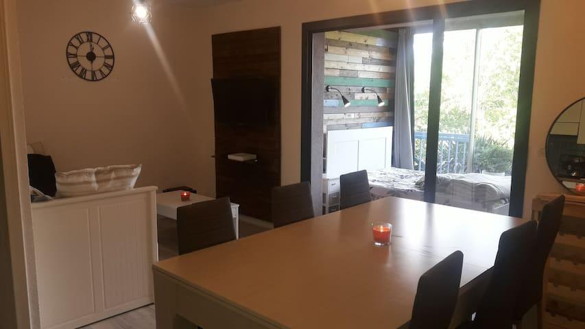 Petit appartement très proche de Saint-Tropez