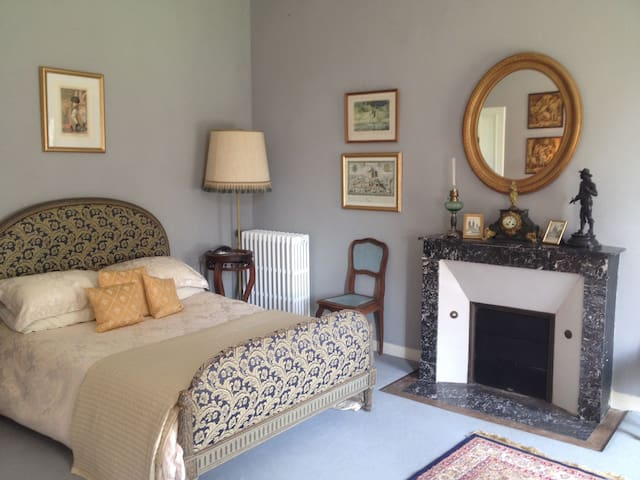 Two bedroomed suite in chateau