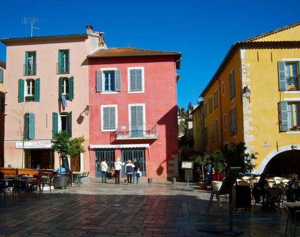 Charming 2 bedrooms in the heart of typical villag - Valbonne - Hus