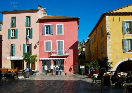 Charming 2 bedrooms in the heart of typical villag - Valbonne