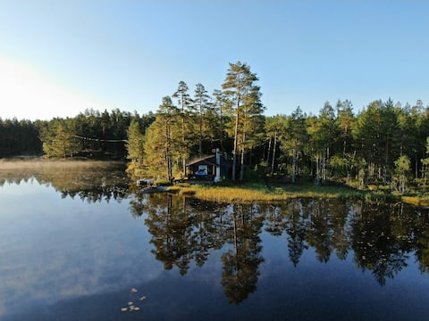 Útulná chata, 40 km od Osla