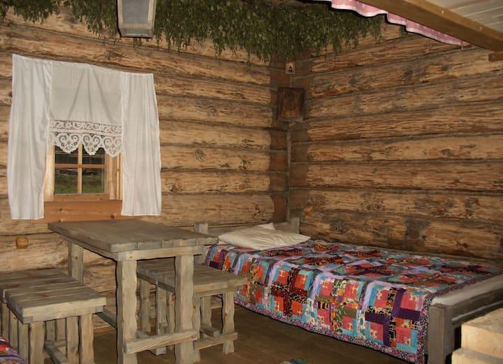 Guest izba w/ Banya Podvorye