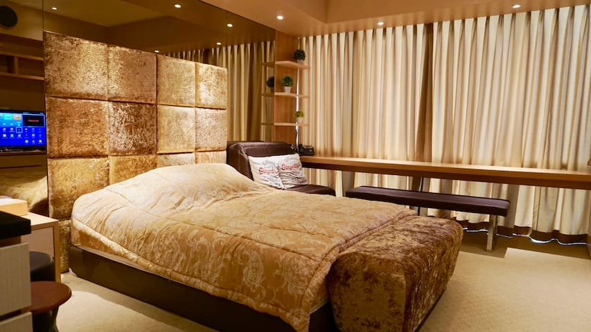 Main Bed + Sofa Bed