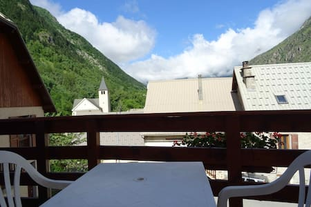 Studio 2 pers Vue montagne, Balcon, Piscine