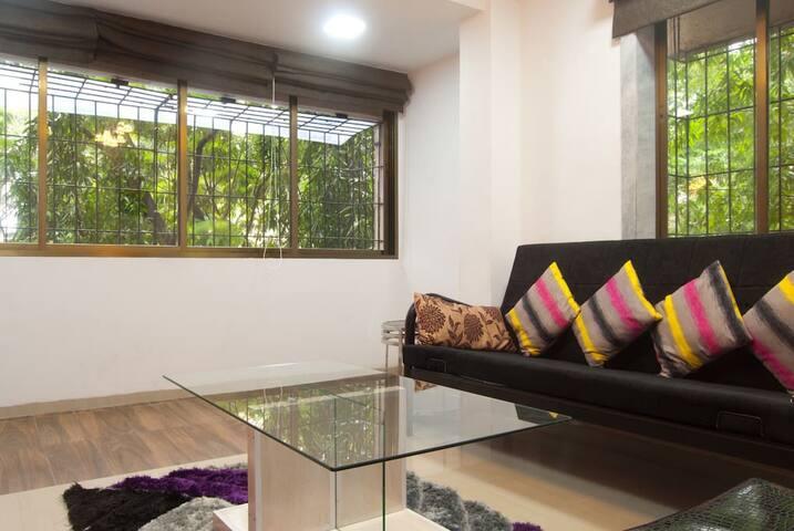 Comfort One Bedroom Apartment in Navi Mumbai - Navi Mumbai - อพาร์ทเมนท์