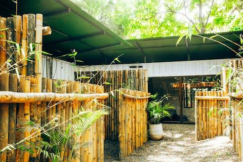 3 Private room tropical bamboo sakura