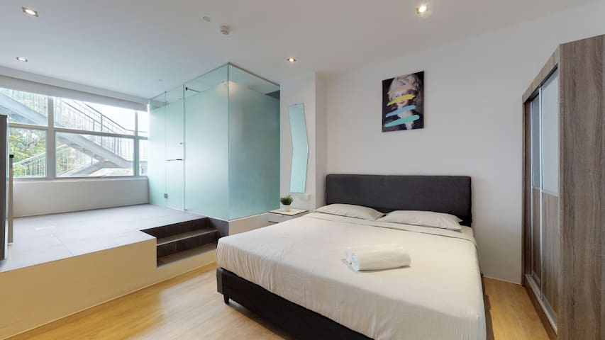 Studio King 2 Single Beds Near Outram Park 11 June 2021 Serviced Apartment In Singapore Singapore 1 Bedroom 1 Bathroom