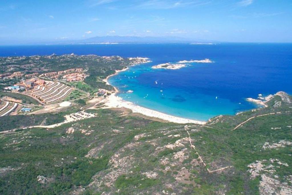 la spiaggia la marmorata