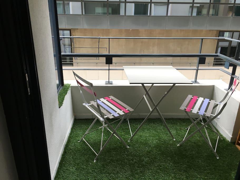 Terrasse au frais