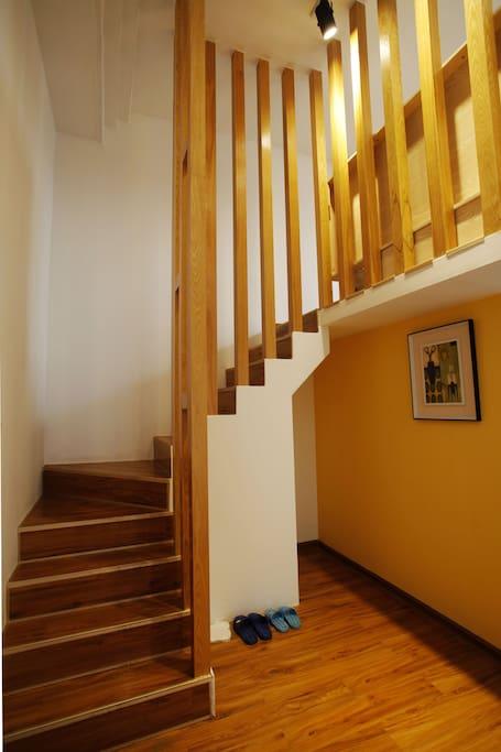 客房旋转楼梯