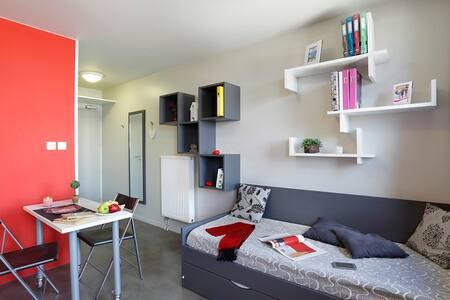 Studio de 18 m² équipé. - Loos - 公寓