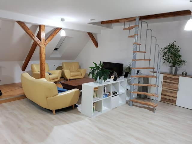 Modern, beatiful apartment with great equipment