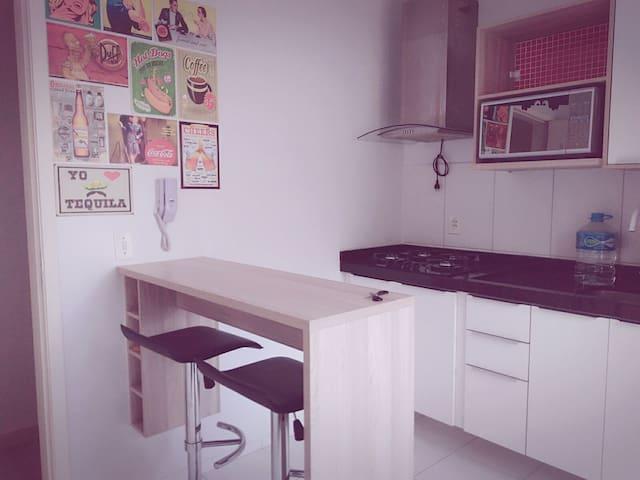 Apartamento mobiliado - São José dos Pinhais - Apartamento