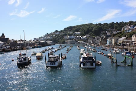 Tidal Waters holiday apartment (sleeps 6) - Looe - Daire