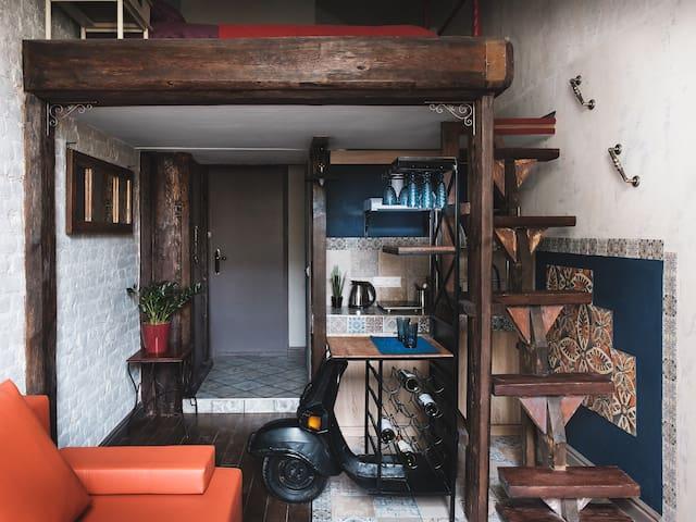 Modern Loft near Moyka river