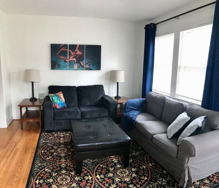 Walk to Duke--Comfy apartment, great neighborhood