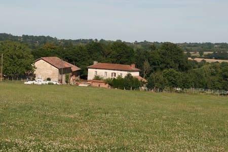 Chambre d'hôtes à la ferme - Champsac