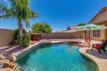 Casa Collins is family friendly in beautiful AZ